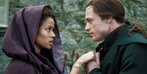 Sam Reid plays one of Belle's suitors, John Davinier.