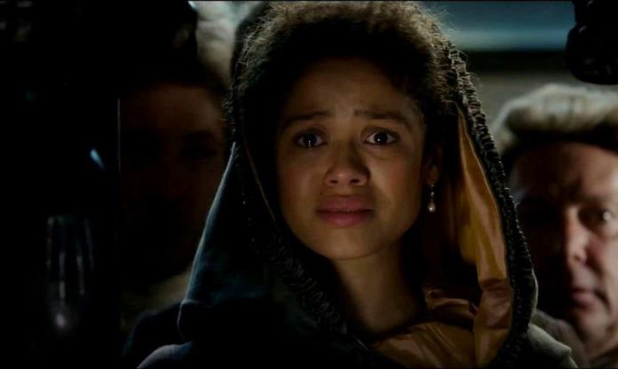 Gugu Mbatha-Raw stars as Dido Elizabeth Belle Lindsay in 'Belle.'